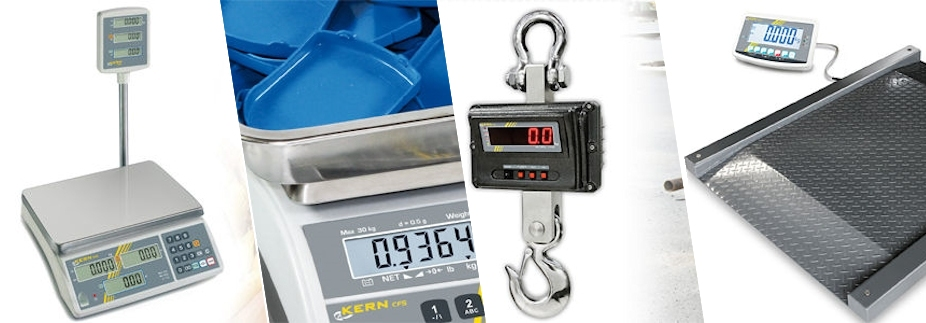 Comercial and industrial scales